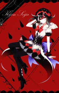 Rating: Safe Score: 20 Tags: heels horns kijin_seija pantyhose sheya touhou User: Mr_GT