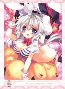 Rating: Questionable Score: 63 Tags: animal_ears ass bikini bunny_ears cleavage halloween p19 swimsuits tail witch User: drop