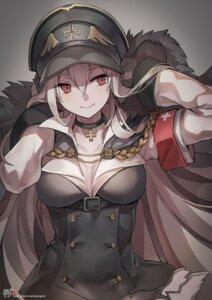 Rating: Safe Score: 47 Tags: cleavage girls_frontline kar98k_(girls_frontline) kyjsogom uniform User: Nepcoheart