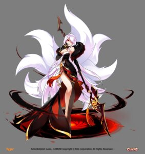 Rating: Safe Score: 48 Tags: ara_haan cleavage dress elsword tagme tail transparent_png weapon User: Nepcoheart