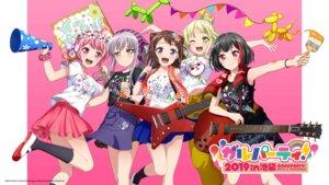 Rating: Safe Score: 25 Tags: bang_dream! guitar maruyama_aya minato_yukina mitake_ran tagme toyama_kasumi tsurumaki_kokoro wallpaper User: saemonnokami