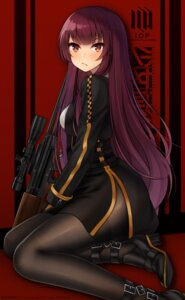 Rating: Safe Score: 25 Tags: girls_frontline gun heels kaleid pantyhose wa2000_(girls_frontline) User: Mr_GT
