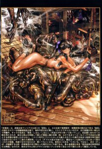 Rating: Questionable Score: 9 Tags: gun monster naked shirow_masamune User: nanashioni
