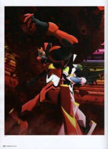 Rating: Safe Score: 6 Tags: eva_02 eva_08 iwasato_masanori mecha neon_genesis_evangelion scanning_artifacts User: Timbo