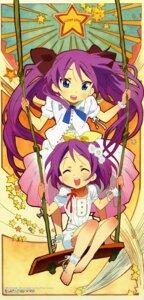 Rating: Safe Score: 22 Tags: hiiragi_kagami hiiragi_tsukasa lucky_star takao_noriko User: syaoran-kun