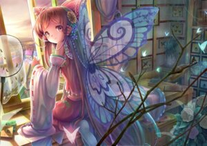 Rating: Safe Score: 53 Tags: hakurei_reimu sanntouhei touhou wings User: 椎名深夏