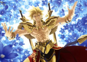 Rating: Safe Score: 22 Tags: armor fate/prototype fate/stay_night gilgamesh_(fate/prototype) male morita_kazuaki sword type-moon User: drop