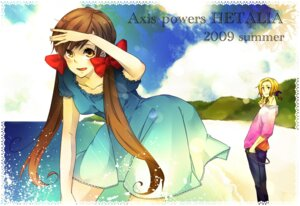 Rating: Safe Score: 5 Tags: france hetalia_axis_powers kuon seychelles User: Radioactive