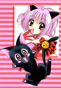Rating: Safe Score: 4 Tags: animal_ears ikumi_mia momomiya_ichigo neko nekomimi tokyo_mew_mew User: charunetra
