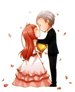 Rating: Safe Score: 12 Tags: animal_ears ayakura_juu craft_lawrence dress holo spice_and_wolf wedding_dress User: Radioactive