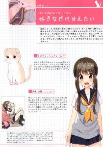 Rating: Safe Score: 5 Tags: neko sakuragi_ren seifuku sweater User: kiyoe