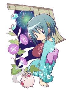 Rating: Safe Score: 16 Tags: gecchu miki_sayaka puella_magi_madoka_magica yukata User: Radioactive