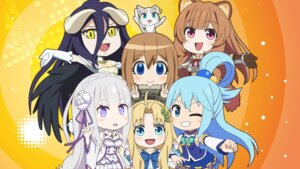 Rating: Safe Score: 16 Tags: albedo_(overlord) animal_ears aqua_(kono_subarashii_sekai_ni_shukufuku_wo!) armor chibi dress emilia_(re_zero) firo horns isekai_quartet kono_subarashii_sekai_ni_shukufuku_wo! neko overlord puck raphtalia re_zero_kara_hajimeru_isekai_seikatsu tate_no_yuusha_no_nariagari uniform viktoriya_ivanovna_serebryakov wallpaper youjo_senki User: kiyoe