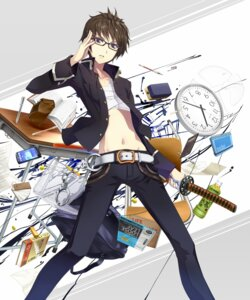 Rating: Safe Score: 19 Tags: male megane ordan seifuku sword User: Radioactive