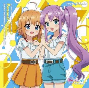 Rating: Safe Score: 11 Tags: disc_cover re:stage!_project shikimiya_mana tagme tsukisaka_sayu User: saemonnokami