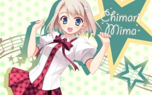 Rating: Safe Score: 46 Tags: imouto_no_katachi kodamasawa_izumi mima_chimari seifuku sphere wallpaper User: Hatsukoi