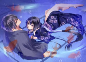 Rating: Safe Score: 14 Tags: fuuchouin_kazuki get_backers kakei_juubei papillon10 trap yukata User: Radioactive