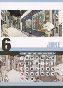 Rating: Safe Score: 1 Tags: calendar maka_albarn ox_ford soul_eater User: blooregardo