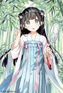 Rating: Safe Score: 31 Tags: asian_clothes card kantoku overfiltered User: Twinsenzw