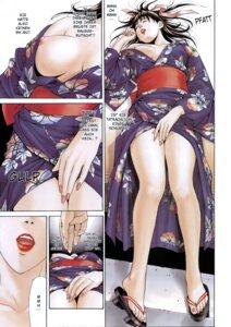 Rating: Questionable Score: 6 Tags: breasts feet fujisawa_ryouko g-taste nipples no_bra open_shirt yagami_hiroki yukata User: MDGeist