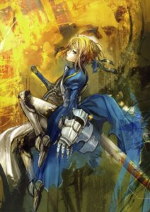 Rating: Safe Score: 22 Tags: armor asai_genji fate/stay_night saber sword type-moon User: Aurelia