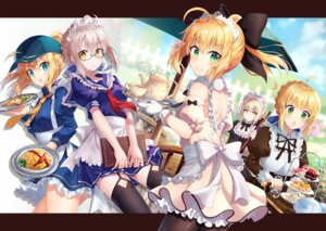 Rating: Safe Score: 45 Tags: fate/grand_order fate/stay_night heroine_x heroine_x_alter maid megane nonono pantyhose saber saber_alter saber_lily seifuku stockings thighhighs User: Nepcoheart