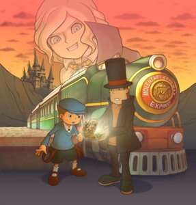 Rating: Safe Score: 4 Tags: anthony hershel_layton layton_kyouju layton_kyouju_to_akuma_no_hako luke_triton male mecha User: Radioactive