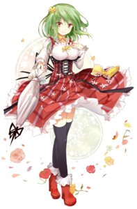 Rating: Safe Score: 57 Tags: efe kazami_yuuka thighhighs touhou User: fairyren