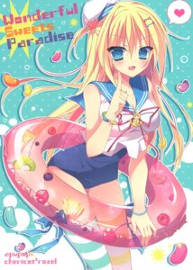 Rating: Questionable Score: 19 Tags: school_swimsuit seifuku swimsuits tagme thighhighs User: Radioactive