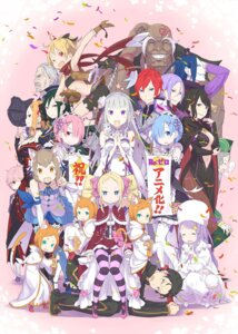 Rating: Safe Score: 98 Tags: anastasia_hoshin animal_ears armor beatrice_(re_zero) bike_shorts bikini_top cleavage crusch_karsten dress elsa_granhiert emilia_(re_zero) felix_argyle felt_(re_zero) julius_juukulius lolita_fashion megane natsuki_subaru neko no_bra ootsuka_shinichirou pack_(re_zero) pantyhose pointy_ears priscilla_barielle ram_(re_zero) re_zero_kara_hajimeru_isekai_seikatsu reinhard_van_astrea rem_(re_zero) romjii_(re_zero) roswell_l._mathers tail tattoo thighhighs trap wilhelm_(re_zero) User: h71337