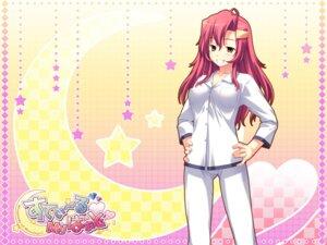 Rating: Questionable Score: 21 Tags: cameltoe erect_nipples kobayashi_reika pajama palette steal_my_heart tamahiyo wallpaper User: topcdmouse