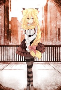 Rating: Questionable Score: 64 Tags: date_a_live dress hoshimiya_mukuro pantyhose qing_cui User: kiyoe