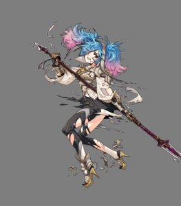 Rating: Questionable Score: 22 Tags: armor fire_emblem fire_emblem_heroes fire_emblem_if heels nintendo pantyhose pieri_(fire_emblem_if) takagi_masafumi torn_clothes transparent_png weapon User: charunetra