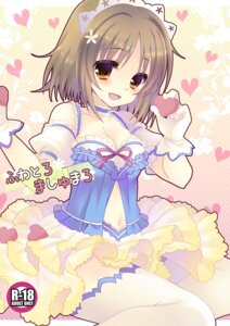 Rating: Safe Score: 34 Tags: ash_(artist) cleavage thighhighs User: fairyren