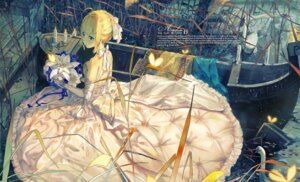 Rating: Safe Score: 41 Tags: dress el-zheng fate/stay_night saber wedding_dress User: Mr_GT