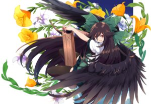 Rating: Safe Score: 34 Tags: reiuji_utsuho thighhighs touhou touzai weapon wings User: nphuongsun93