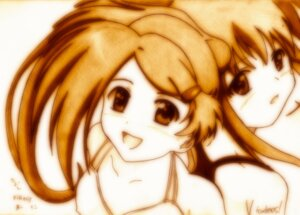 Rating: Safe Score: 3 Tags: godees kissxsis monochrome suminoe_ako suminoe_riko User: charunetra