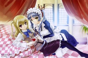 Rating: Safe Score: 16 Tags: koin maid maria_holic pantyhose shidou_mariya shinouji_matsurika trap User: yumichi-sama