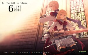 Rating: Safe Score: 6 Tags: calendar falcom sword thighhighs wallpaper User: hirotn
