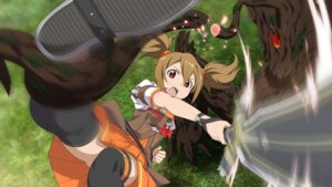 Rating: Safe Score: 40 Tags: bondage dress monster silica sword sword_art_online tentacles thighhighs User: kiyoe