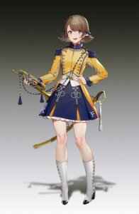 Rating: Safe Score: 32 Tags: heels quuni sword uniform User: Radioactive