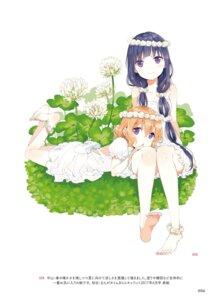 Rating: Safe Score: 39 Tags: blend_s cleavage digital_version dress feet hoshikawa_mafuyu nakayama_miyuki sakuranomiya_maika User: kiyoe