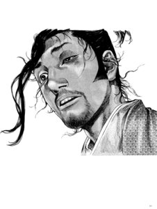 Rating: Safe Score: 1 Tags: inoue_takehiko male monochrome vagabond User: Umbigo