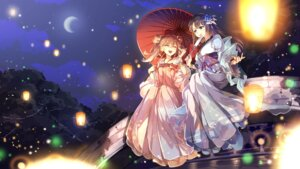 Rating: Safe Score: 36 Tags: asian_clothes tagme tricolour_lovestory umbrella wallpaper User: BattlequeenYume