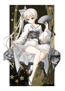 Rating: Questionable Score: 98 Tags: haruka_na_sora hashimoto_takashi japanese_clothes kasugano_sora kimono sphere User: Twinsenzw