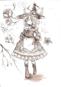 Rating: Safe Score: 6 Tags: aidumi kirisame_marisa monochrome touhou User: Radioactive