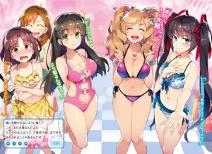 Rating: Safe Score: 69 Tags: bikini chuuko_demo_koi_ga_shitai! cleavage redrop swimsuits User: Mr_GT