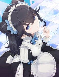 Rating: Safe Score: 39 Tags: izumo_kasumi maid nijisanji shouju_ling User: BattlequeenYume