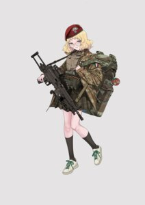 Rating: Safe Score: 7 Tags: gun megane uniform yitiao_er-hua User: Dreista