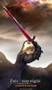 Rating: Safe Score: 28 Tags: armor dress fate/stay_night hews saber sword User: nihonecchi
